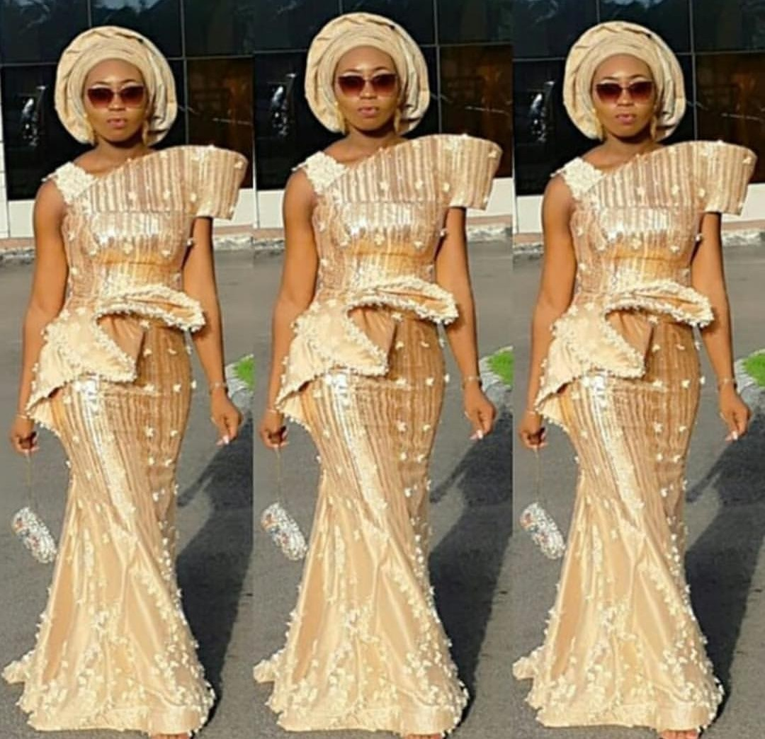 2019 LACE ASO EBI & SKIRTS TO EMPHASIZE YOUR BODY BEAUTY! 2