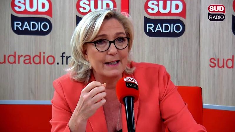 Marine Le Pen sur Sud Radio