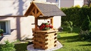 Making Wooden Well for garden [PLANS]