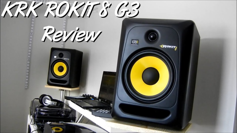 KRK Rokit 8 G3 Review