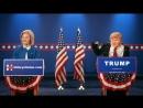 DONALD TRUMP VS HILLARY CLINTON DANCE BATTLE ScottDW Born to Be
