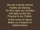 Carry Your Candle Lyrics