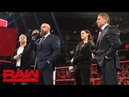 The McMahons to control Raw and SmackDown LIVE as a united front Raw, Dec. 17, 2018