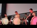 J-fest summer 2018 drummers Nobushi