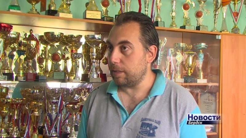 Профессиональный спортсмен из Сербии тренирует бердских баскетболистов