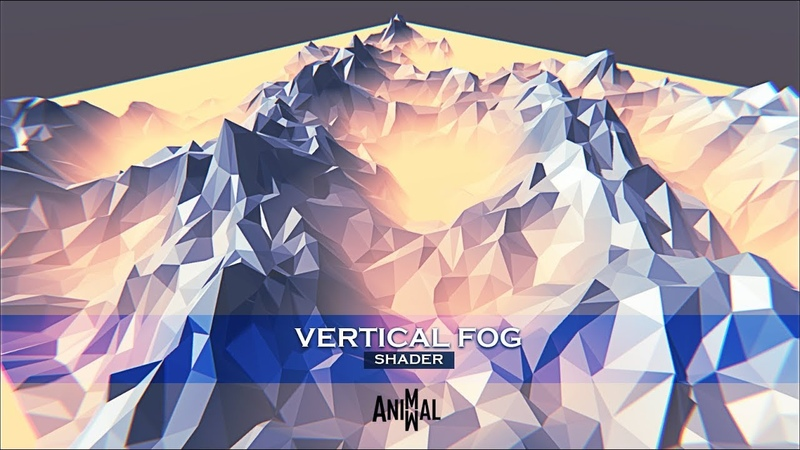 Vertical Fog Shader Unity 3d Asset Store Package
