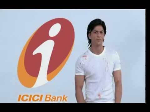 A Shah Rukh Khan Advertisement Of ICICI Bank.