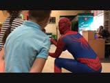 Человек паук на день рождение в клубе