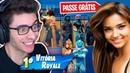 ENCONTREI UMA INSCRITA E DEI UM PASSE DE BATALHA PARA ELA! Fortnite: Battle Royale