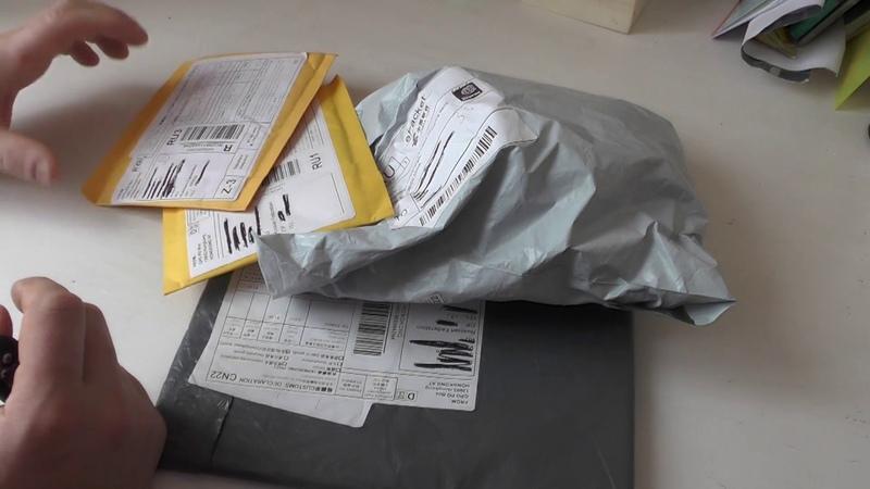 Посылки из Китая25 Распаковка 4 посылок с AliExpress Прислали говорящего хомяка