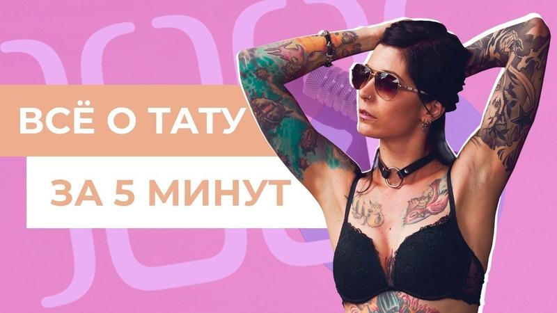 О татуировках за 5 минут | Tattoo Revolution 2018