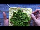 Leaves Granny Square Free Crochet Pattern