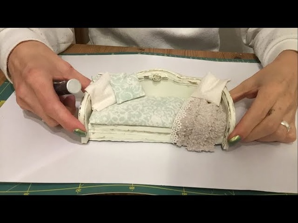 Miniature Tutorial: How to make a sofa ~ daybed ~ couch