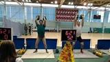 Толчок ДЦ (гири 24 кг)Александр Слободин - 73 подъема, Воронов Николай - 91 подъем.