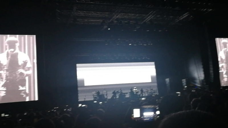 Massive Attack Angel live in Moscow Park Live 29 07 18
