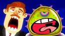 ПРИКЛЮЧЕНИЯ ЛИЗУНА мультик игра для маленьких детей 1 игровой мультфильм 2018 Blobs Летсплей