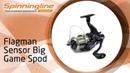 Безынерционная катушка Flagman Sensor Big Game Spod