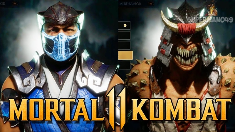 Mortal Kombat 11: ALL Gear Showcase, Skins Special Moves! - Mortal Kombat 11 Customization
