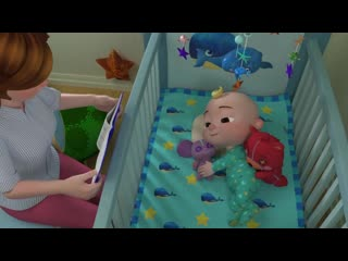 Yes Yes Bedtime Song _ More Nursery Rhymes Kids Songs - CoCoMelon