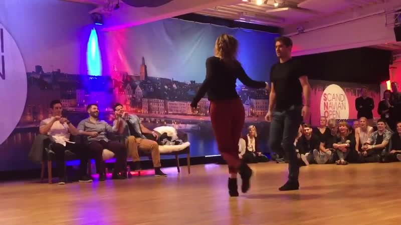 Scandinavian Open 2018 JnJ invitational Ludovic Pelegrin Pardou Virginie Grondin Fast song