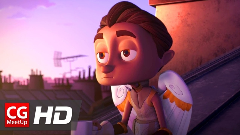 CGI Animated Short Film Cupid Love is Blind Cupidon by ESMA CGMeetup