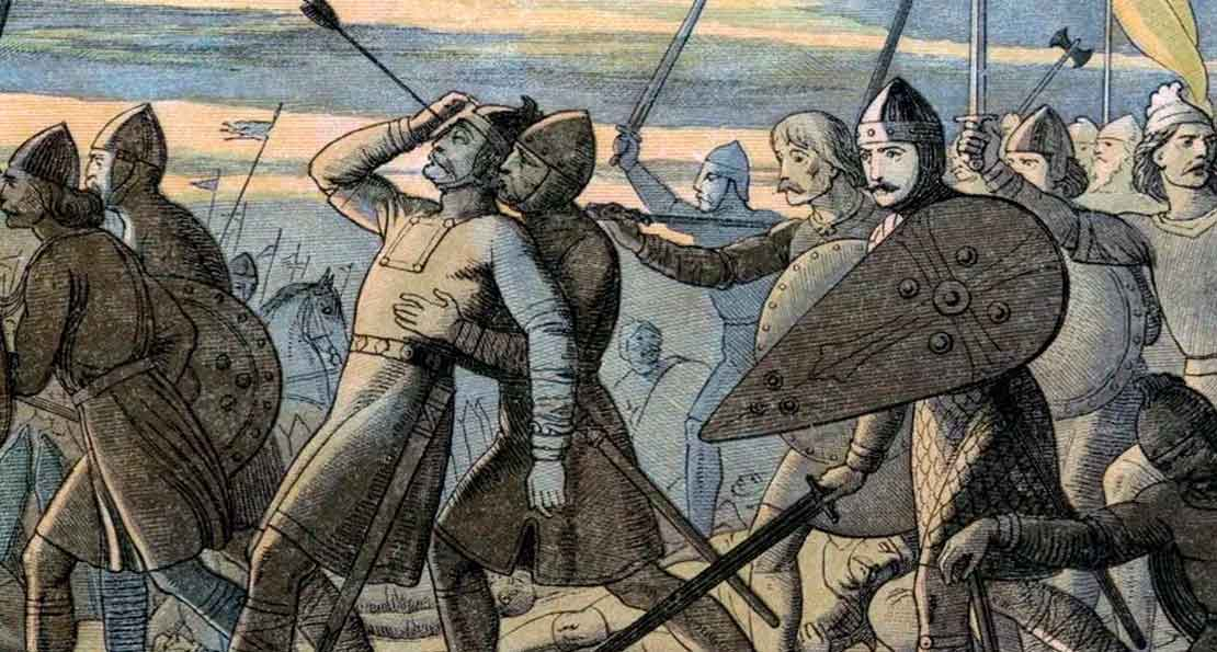 Ранение короля Гаральда