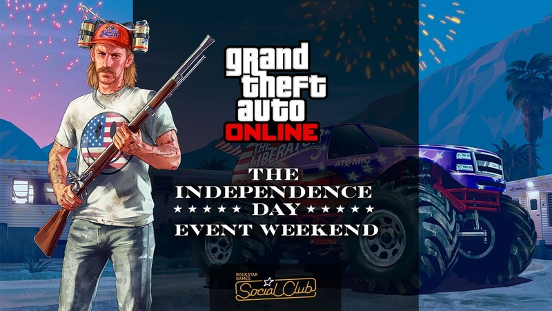 GTA Online Independence Day Rockstar Broadcast Show: USA vs UK REMATCH w/ Lui Calibre GTAVoclock