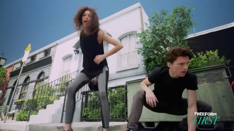 Spider-Man: Homecoming   Rookie in Training with Zendaya Tom Holland