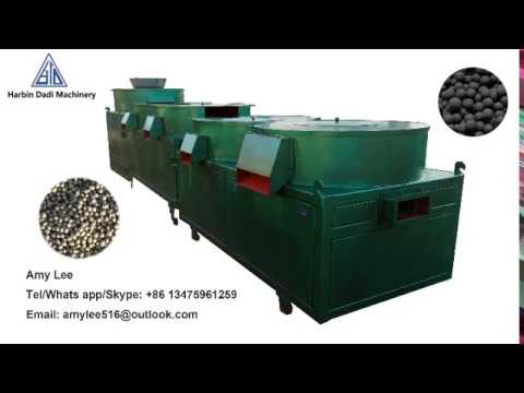 Chicken manure /cow dung compost organic fertilizer granule making machine