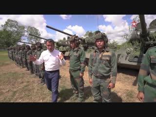 «Звезда» показала легендарные Т-34, стоящие на вооружении армии Лаоса