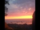 Море. Закат. Хорошо.