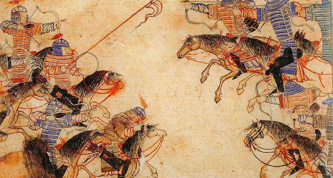 Монголы на миниатюрах