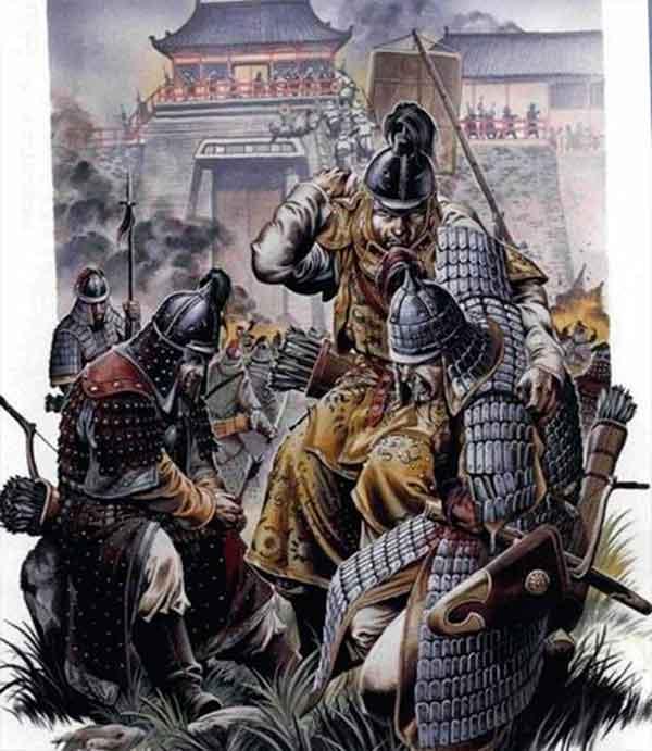 Осада монголов