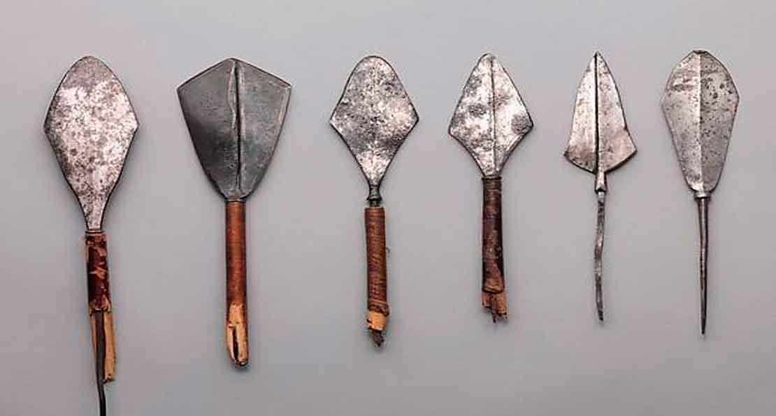 Стрелы монголов