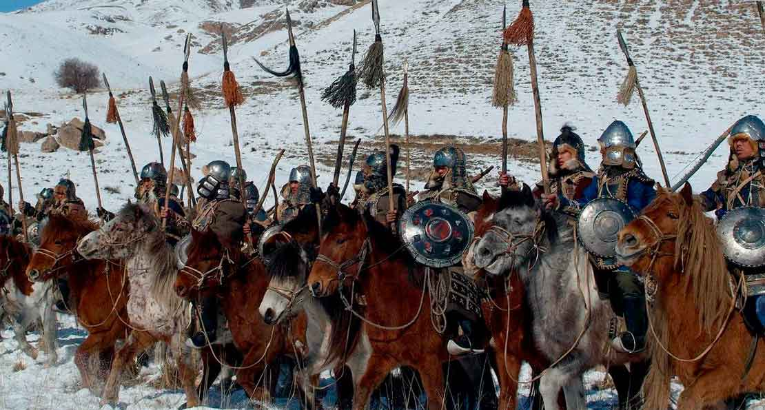 Зима и монголы