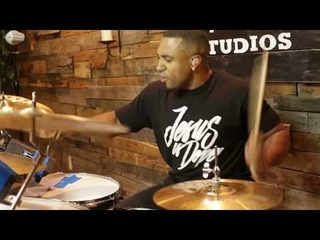 Kaz Rodriguez Over and Over || CALEB GRAVES(AMPUTEE)DRUM COVER!!!!