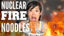 NUCLEAR FIRE Noodle CHALLENGE Samyang 2x Spicy Chicken Ramen