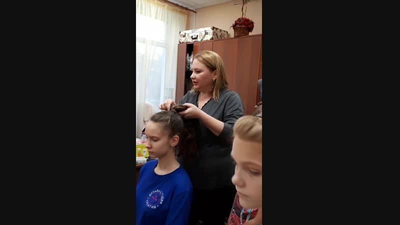 13.10.18 Мастер-класс по прическам на длинных волосах