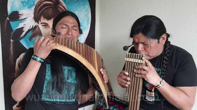The Sound of Silence - Sonidos del Silencio Panflute and quenacho - Wuauquikuna