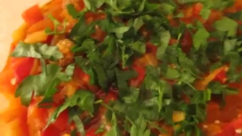 Салат из баклажан Простой рецепт салата из баклажан