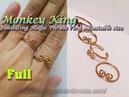 Monkey King Inhibiting Magic Phrase ring adjustable size full version slow 312