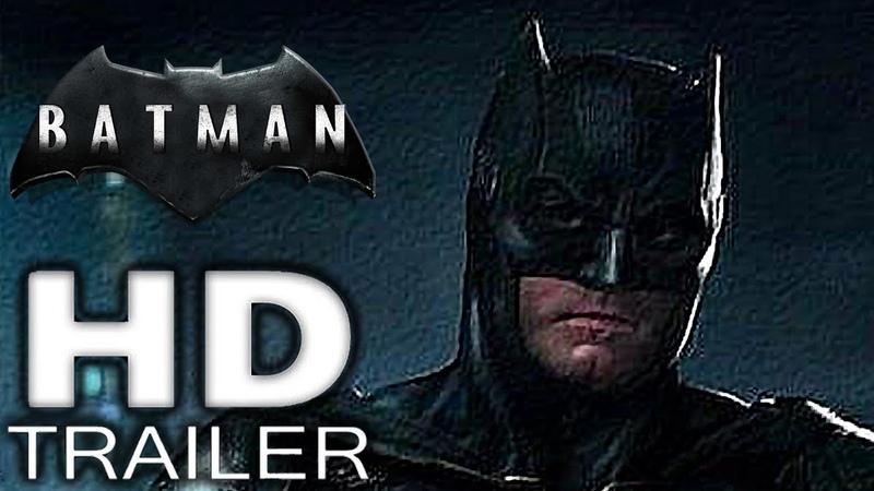The Batman - Teaser Trailer (2019) Ben Affleck, Ben Kingsley Concept HD