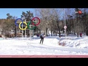 100 секунд на Солнце. Чемпионат по лыжным гонкам