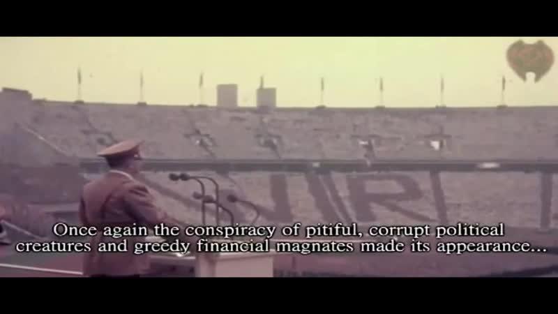 Adolf Hitler - We Shall Crush The Freemasons (World War 2)