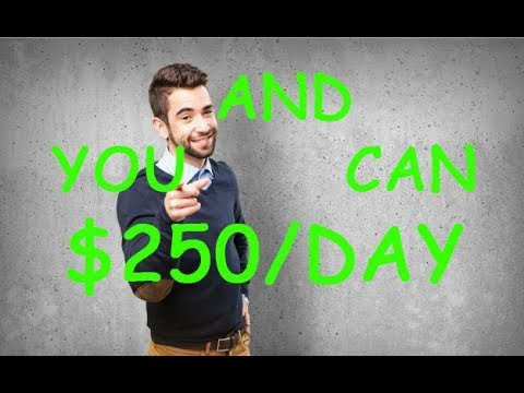 ✅ $250/DAY ✅ How to make money 2019 (how to make money fast) ✅