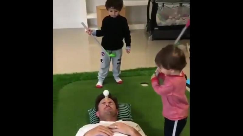 Отважный отец