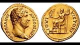 Аурей, 134 - 138 гг., Монета Адриана, Древний Рим, Aurey, 134 - 138 AD, Coin of Adrian
