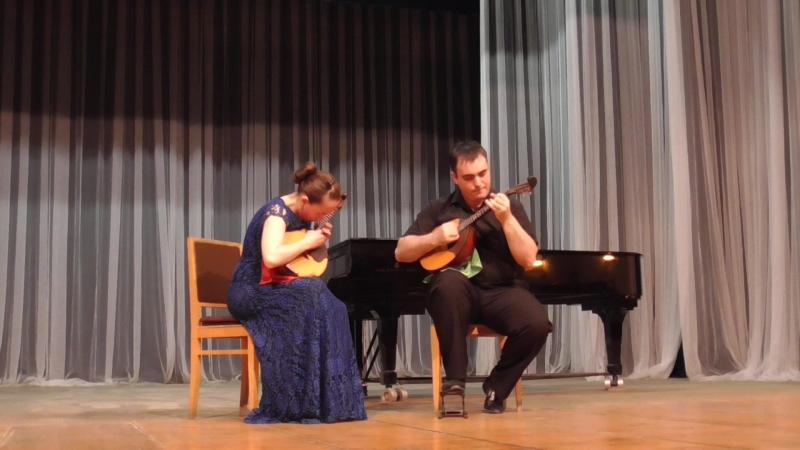 Андрей Бызов - Токката для дуэта домр (переложение для домры и альта)