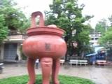 180 Вьетнам Нячанг прогулки по городу Пагода Лонг Сон или Шон Vietnam Nha Trang Long Son Pagoda