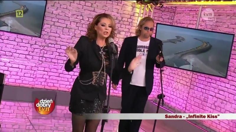 Sandra - Infinite Kiss (Dzien Dobry, Poland, 22.09.2012)